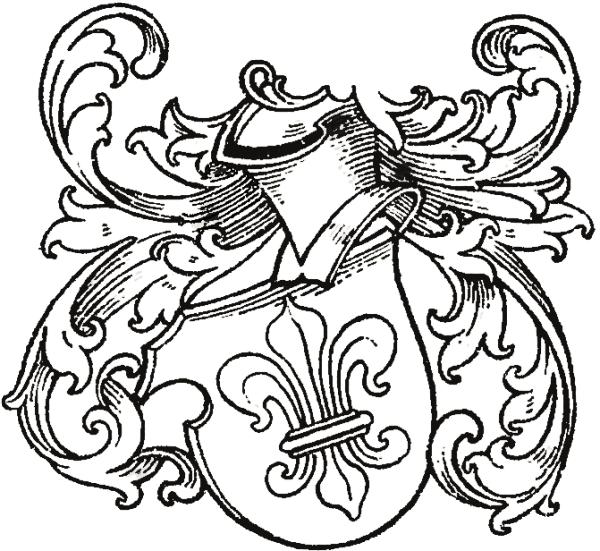 Wappen von Sunhere (Quelle: Max von Spießen/Archiv zu Hovestadt)